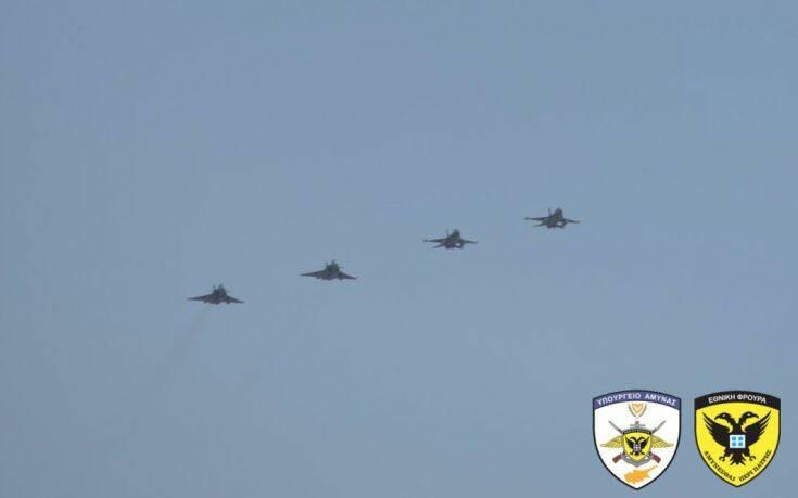 Εντυπωσιακές εικόνες από την αεροναυτική άσκηση «Εunomia 2020» και η «επίθεση» των Τούρκων στη Γαλλία - ΕΛΛΑΔΑ